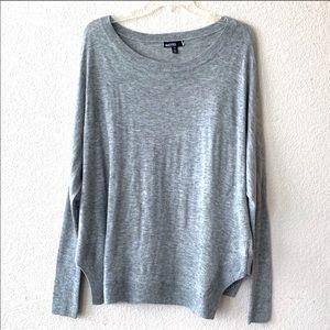 Valette Nordstrom Dolman Sleeve Gray Sweater